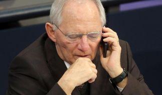 Schäuble: Anleger müssen sich auch selber schützen (Foto)