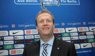 Hertha feiert 61,2-Millionen-Investition: «Meilenstein» (Foto)