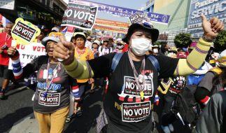 Neue Gewalt vor Wahlgang in Thailand (Foto)