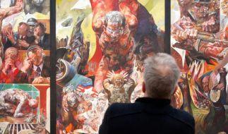 Willi Sittes «Menschenbilder» in Merseburg (Foto)