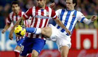 Diego trifft: Atlético Spitzenreiter - Real nur 1:1 (Foto)