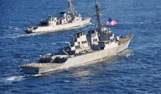 Zwei US-Kriegsschiffe im Schwarzen Meer eingetroffen (Foto)