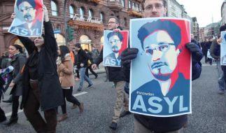 Edward Snowden soll den Datenskandal in Deutschland untersuchen, fordern Bürgerrechtler. (Foto)