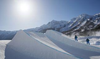 Der Chefmeteorologe der Olympischen Winterspiele beteuert, dass das Wetter nicht manipuliert wird. (Foto)