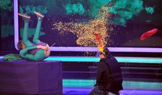 Kunstfurzer Mr. Methane konnte bei «Supertalent» leider nicht abräumen. (Foto)