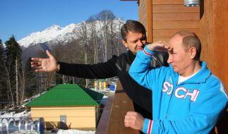 «Zar» Putin startet als «Herr der Ringe» durch (Foto)