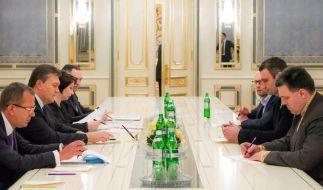 Nach Sanktionsdrohung: Kiew mahnt Steinmeier (Foto)