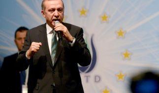 Der «große Meister» in Berlin: Erdogan buhlt um Wähler (Foto)