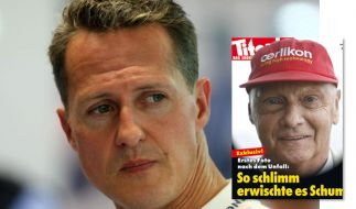 Empörung über den Schumi-Spott. (Foto)