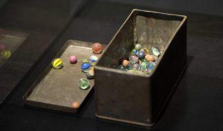 Glasmurmeln von Anne Frank aufgetaucht (Foto)