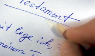 Streit um Testierfähigkeit - Pflegegutachten muss gezeigt werden (Foto)