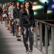 Irina Shayk Barcelona Fashion Week