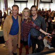 Die neue Topmodel-Jury: Wolgang Joop (links), Heidi Klum und Thomas Hayo.