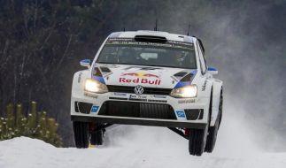 Dreifach-Führung für Volkswagen bei Rallye Schweden (Foto)