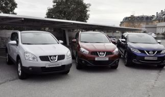 Test Nissan Qashqai – Treffen der Generationen (Foto)