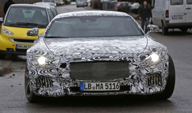 Die besten Bilder zu Erwischt: Erlkönig Mercedes GT – Porschejäger neu aufgelegt: Mercedes-Benz (Foto)