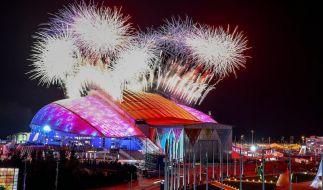 Die Olympischen Winterspiele in Sotschi wurden mit viel Glanz und Gloria eröffnet. (Foto)