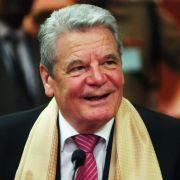 Bundespräsident Gauck wünscht Glück und Erfolg (Foto)