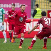 Kaiserslautern findet Anschluss - 2:1 gegen Fürth (Foto)