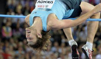 Hochspringer Uchow verpasst Weltrekord hauchdünn (Foto)