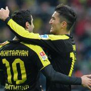 Werder wurde beim 1:5 gegen den BVB vorgeführt (Foto)