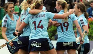 UHC-Damen gewinnen ersten Hallenhockey-Titel (Foto)