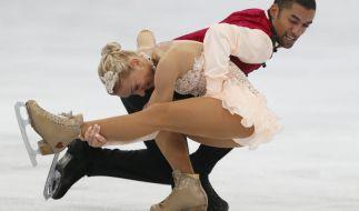 Gelten in Sotschi als Favoriten auf Gold: Aljona Savchenko und Robin Szolkowy. (Foto)