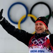 Olympia-Spezialistin Kuzmina siegt in der alten Heimat (Foto)