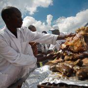 Beim African Food Festival blieb ein soclher Skandal bisher zum Glück aus.