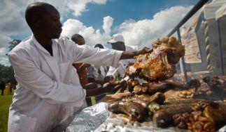 Beim African Food Festival blieb ein soclher Skandal bisher zum Glück aus. (Foto)
