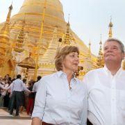 Gauck und Suu Kyi: Reformen in Birma müssen vorangehen (Foto)