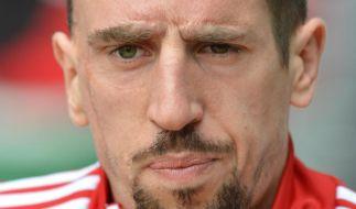 Bitter für Bayern: Ohne Ribéry gegen Arsenal (Foto)