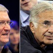 Streitlustiger Apple-Großaktionär macht Rückzieher (Foto)