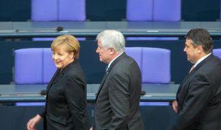Seehofer: Mit Merkel bei Energiewende «totale Übereinstimmung» (Foto)