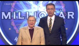 Karlheinz Reher und Günther Jauch - das neue Dreamteam bei «Wer wird Millionär?» (Foto)