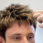 Stützhaare geben kurzer Frisur mehr Volumen (Foto)