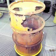 Weitere rostige Atommüllfässer in Brunsbüttel gefunden (Foto)
