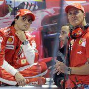 F1-Pilot Massa bei Schumacher - «Hoffe, er ist stark» (Foto)