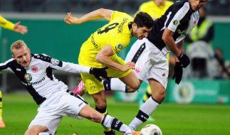 Aubameyang köpft Dortmundins Pokal-Halbfinale (Foto)