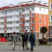 Menschenrechtler: Immer noch 700 Arbeiter ohne Lohn (Foto)
