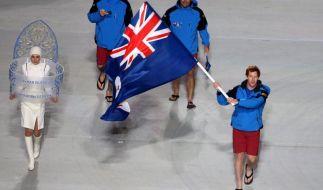 Olympia-Exoten: Hauptsache nicht Letzter werden (Foto)