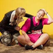 Christine Theiss (l.) ist überrascht von Nicoles Kampf- und Siegeswillen, wenn es um die Immunität geht ...