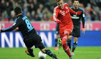 Zerlegt Mario Götze und der FC Bayern den HSV endgültig? (Foto)