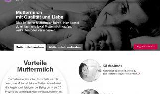 Die Muttermilch Börse von Tina Müller bringt milchsuchende und milchbietende Frauen zusammen. (Foto)