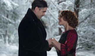 Colin Farrell und Jessica Brown Findlay in dem zauberhaft-romantischen Film «Winter's Tale». (Foto)