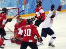Kanadierinnen feiern Prestigesieg über die USA (Foto)
