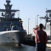 Bundeswehr vor neuem Einsatz im Mittelmeer (Foto)