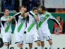 Wölfe abgezockt ins Pokal-Halbfinale: 3:2 in Hoffenheim (Foto)