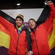 Nach Doppelsitzer-Gold:Rodler wollen vierten Sieg (Foto)