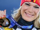 Am Tag darauf legte Maria Höfl-Riesch in der Super-Kombination nach. (Foto)